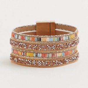 🆕 Torrid Coral Sparkle Magnetic Bracelet NWT
